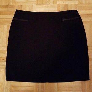 EUC Worthington Stretch Black Skirt